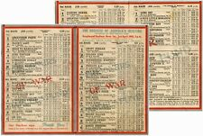 PoW PARCELS FUND GREYHOUND RACE CARD 1943 DUCHESS of NORFOLK HOVE STADIUM