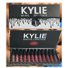 🔔Kylie Jenner Black Bow 💋12pcs Matte Liquid Lipstick Lip Kit - LIMITED STOCK🎁