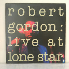 Robert Gordon ‎– Live At Lone Star Label: New Rose Records ‎– Vinyl, LP, Album