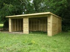 FIELD SHELTER 24 X 12 £1450 DELIVERED AND ERECTED