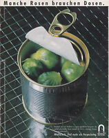 WEISSBLECH - PUBLICITE PRESSE  PAPER ADVERT 1988 ALLEMAGNE