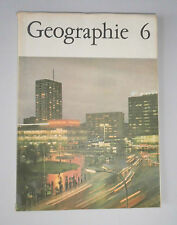 altes Schulbuch Geographie Klasse 6 - DDR