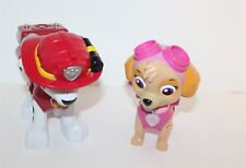 "Paw Patrol Marshall & Skye Character Toys 7"" Spin Master"