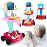 Kids Pretend Doctor Nurse Medical Playset Educational Girl Role Play Kit Toy Set