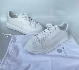 Gianni VERSACE MEDUSA HEAD GORGO White MEN'S Shoes SNEAKER SIZE 43/10 US DECO