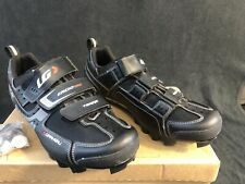 New Men's 10.5 - Louis Garneau HRS-80 Ergo Grip Terra - Black
