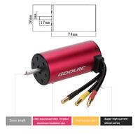 GoolRC S3674 2650KV 4 Poles Brushless Sensorless Motor for 1/8 RC Car New J4B3