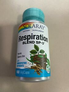 Solaray Respiration Blend SP-3   Herbal Blend - 100 VegCaps