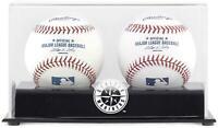 Mariners Two Baseball Cube Logo Display Case - Fanatics