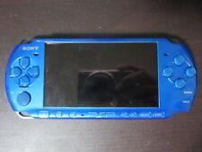 Sony PSP 3000 console Vibrant Blue Japan ver a296