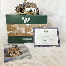 1997 Lilliput Lane Scotch Mist L2159 Oban Scotland British Cottages Coa and Box