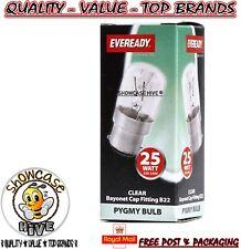 Eveready 25w Refrigerator Fridge Freezer Appliance BC B22 Bayonet Bulb Pygmy B22