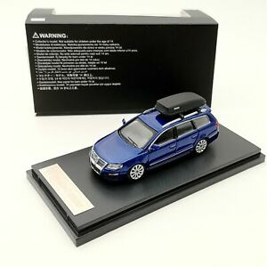 1:64 Volkswagen Passat Wagon R36 Cars Models Diecast Toys Collection Gifts Blue