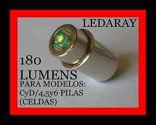 BOMBILLA MAGLITE LED, PARA LINTERNAS STANDAR, MODELOS:CyD-4,5y6 CELDAS (PILAS).