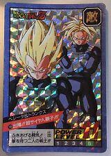 Carte Dragon Ball Z Power Level / Super Battle Part 4 Double Prism Card #188