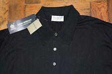 John Smedley 100% Sea Island Cotton ISIS Polo Shirt BNWT RRP £145