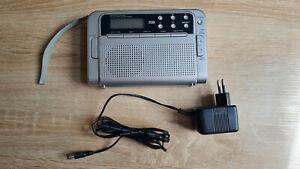TCM Radio für Batterie und Netzteil, voll funktionsfähig, gut erhalten