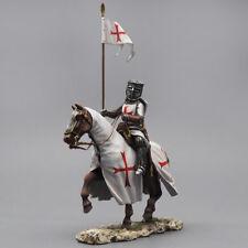 Tin Soldier, Templar knight, equestrian crusader, Siege of Jerusalem, 54 mm