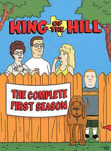 King of the Hill - Season 1 (DVD, 2009, 3-Disc Set) VGC