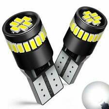2Pcs T10 501 194 W5W 24SMD LED Car Interior White CANBUS Error Free Light Bulbs