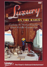 Luxury on the Rails DVD Pentrex Varnish 18 private cars Chicago to Tampa FL NEW