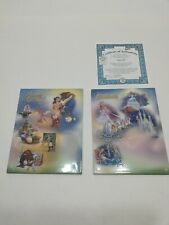 Disney Cinderella Beauty And The Beast Collectable Plates Hanging Wall Decor