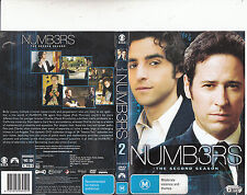 Numbers-2005/10-TV Series USA-Complete Second Season-6 Disc Set-DVD