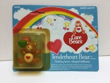 "1982 Care Bears ""Tenderheart Bear"" Holding Heart-shaped Balloon In Box By Kenner"