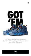 Brand New Nike Uptempo DB Size 8.5 extremely limited! glow in the dark and 3m!