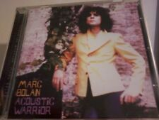 MARC BOLAN Acoustic Warrior CD 1999 Overdubbed POST FREE