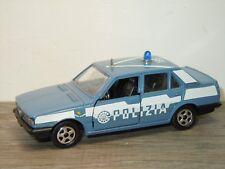 Alfa Romeo Giulieta Polizia - Mattel Hotwheels A111 Italy 1:43 *34807