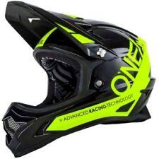 O'neal Backflip Full Face DH Downhill MTB Mountain Bike Helmet Black Yellow Lge