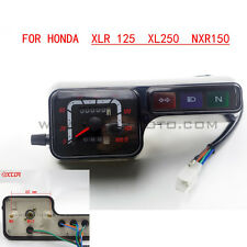 Motorcycle speedometer tachometer gauges odometer For Honda XLR125 XL250 NXR150