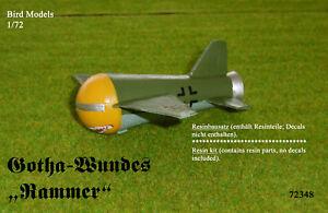 "Gotha-Wundes ""Rammer""      1/72 Bird Models Resinbausatz / resin kit"