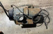 Vintage Bell And Gossett Oil Less Air Compressor 34 Hp Made In Usa