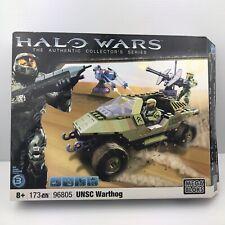 Halo Wars Mega Bloks UNSC Warthog 96805 Retired Complete Set With 3 Figures