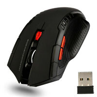 1600DPI 2.4G Wireless Optical Gaming Mouse Mice With  USB Receiver For PC Laptop