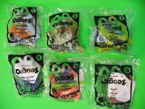 2013 McDonalds - The Croods - set of 6 *MIP*