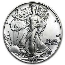 1988 1 oz Silver American Eagle BU - SKU #1084