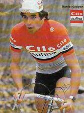 DANIEL GISIGER cyclisme ciclismo Signée autographe Cycling suisse Swiss tour