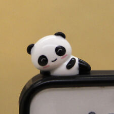 Wholesale 30 Cute Panda(SmileCurve eye) Dust Proof phone plug Cover Charm(3.5mm)