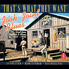 NEW Jook Joint Blues: Good Time Rhythm & Blues 1943-1956 (Audio CD)