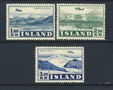 Iceland - Scott C27 - C29 Air Mails Mint Hinged