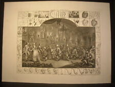 William Hogarth Analysis Of Beauty II Engraving 1753