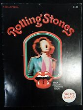 1970 A Dell Special Rolling Stones Mick Jagger and His Tour Magazine Rare