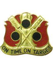0072 Field Artillery Brigade Unit Crest (On Time On Target)
