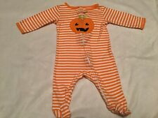 Baby Girl or Boy One Piece Haloween Outfit from Carters, Size 3-6 Months