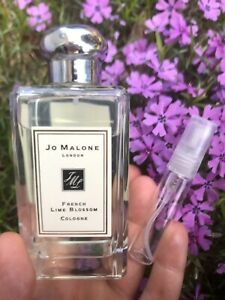 JO MALONE FRENCH LIME BLOSSOM -5ML. Decant Spray Only(Sample)