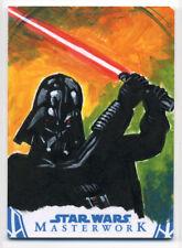 Star Wars Masterwork DARTH VADER Sketch Card ARTISTS RETURN AP Ted Dastick Jr 02