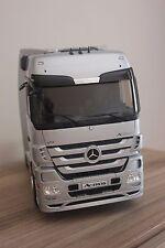 Eligor Mercedes - Benz Actros Truck 1:18 scale die cast SILVER RARE